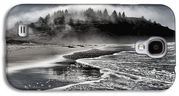 Foggy Beach Galaxy S4 Cases - Pacific Island Fog Galaxy S4 Case by Adam Jewell