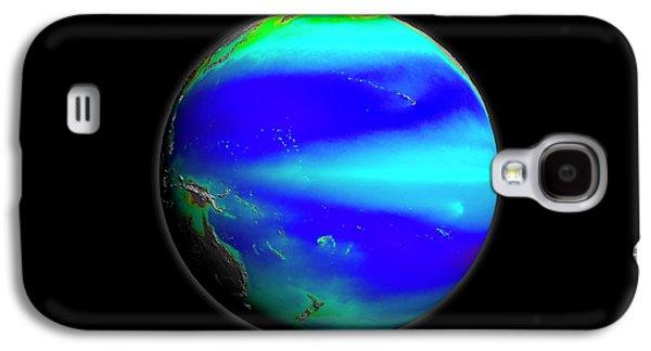 Pacific Phytoplankton Levels Galaxy S4 Case by Nasa/gsfc-svs/seawifs/geoeye