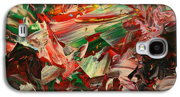 Expressionism Galaxy S4 Cases - Paint number 48 Galaxy S4 Case by James W Johnson