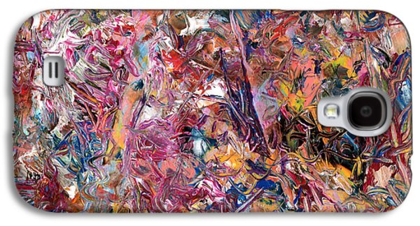 Abstract Expressionism Galaxy S4 Cases - Paint number 49 Galaxy S4 Case by James W Johnson