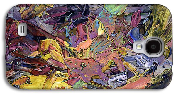 Expressionism Galaxy S4 Cases - Paint number 60 Galaxy S4 Case by James W Johnson