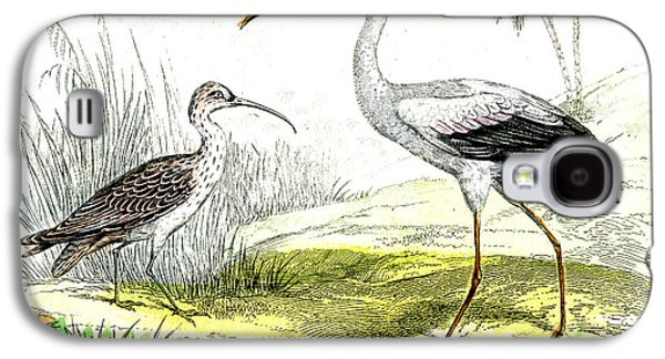Painted Storks Galaxy S4 Case by Collection Abecasis