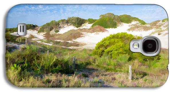 Recently Sold -  - First Lady Galaxy S4 Cases - Paintography of NaNa Dunes American Beach Florida Galaxy S4 Case by Dawna  Moore Photography