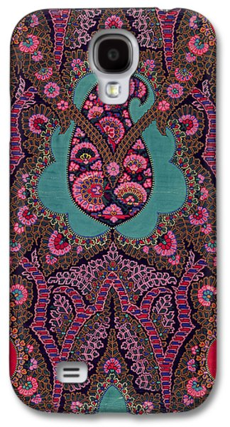 Shawl Galaxy S4 Cases - Paisley  Galaxy S4 Case by George Charles Haite