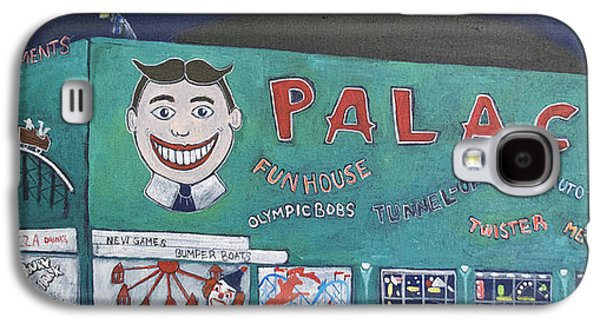 Asbury Park Paintings Galaxy S4 Cases - Palace 2013 Galaxy S4 Case by Patricia Arroyo