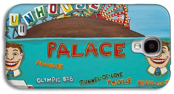 Carousel House Paintings Galaxy S4 Cases - Palace Amusements II Galaxy S4 Case by Norma Tolliver