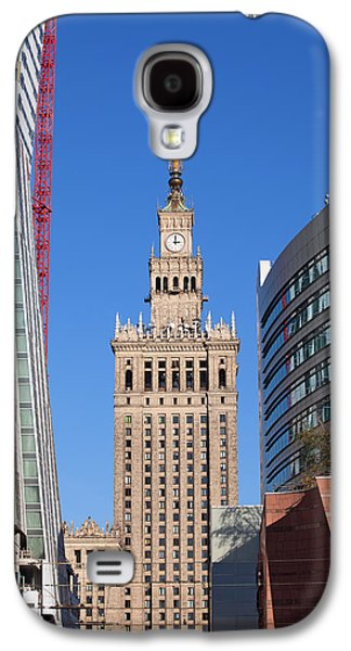 Polish Culture Galaxy S4 Cases - Palace of Culture and Science in Warsaw Galaxy S4 Case by Artur Bogacki
