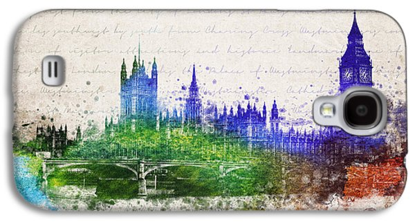 Palace Of Westminster Galaxy S4 Case by Aged Pixel