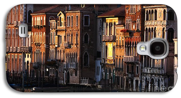 Historical Images Galaxy S4 Cases - Palaces on the Grand Canal - Venice Galaxy S4 Case by Matteo Colombo