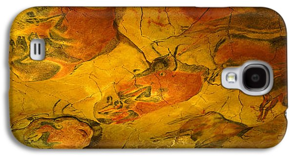 Creativity Galaxy S4 Cases - Paleolithic Paintings, Altamira Cave Galaxy S4 Case by Panoramic Images