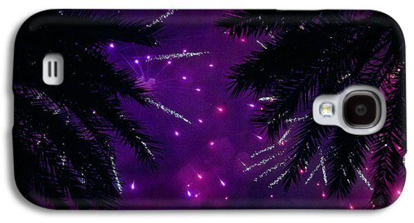 4th July Mixed Media Galaxy S4 Cases - Palm art Galaxy S4 Case by Davids Digits