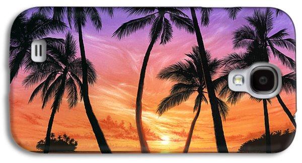 Locations Galaxy S4 Cases - Palm Beach Sundown Galaxy S4 Case by Andrew Farley
