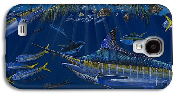 Marlin Azul Galaxy S4 Cases - Palm Cover OFF00148 Galaxy S4 Case by Carey Chen