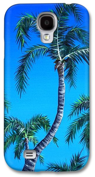 Landscapes Galaxy S4 Cases - Palm Tops Galaxy S4 Case by Anastasiya Malakhova