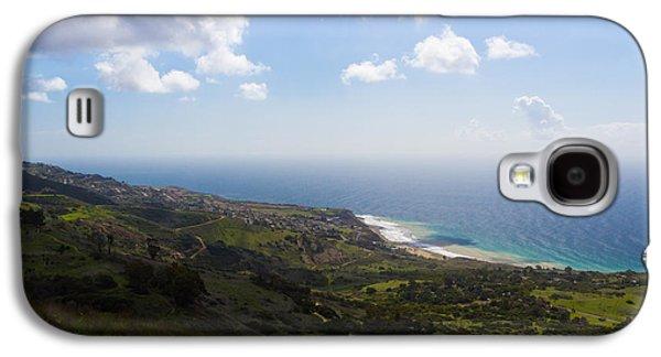 Outlook Photographs Galaxy S4 Cases - Palos Verdes Peninsula Galaxy S4 Case by Heidi Smith