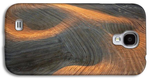 Contour Farming Galaxy S4 Cases - Palouse Contours I Galaxy S4 Case by Latah Trail Foundation