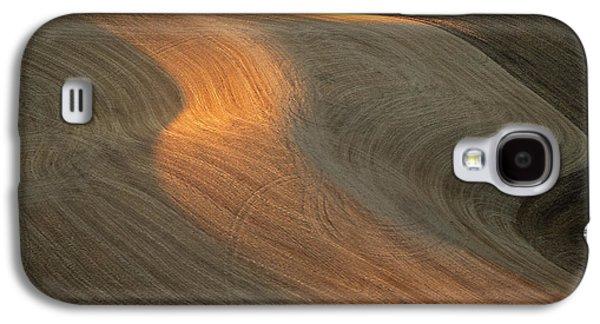 Contour Farming Galaxy S4 Cases - Palouse Contours II Galaxy S4 Case by Latah Trail Foundation