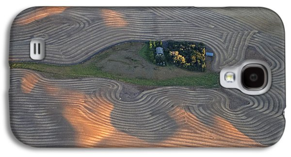 Contour Farming Galaxy S4 Cases - Palouse Contours III Galaxy S4 Case by Latah Trail Foundation
