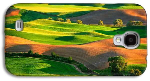Harmonious Galaxy S4 Cases - Palouse Fields Galaxy S4 Case by Inge Johnsson