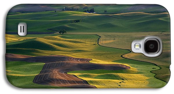 Palouse Shadows Galaxy S4 Case by Mike  Dawson