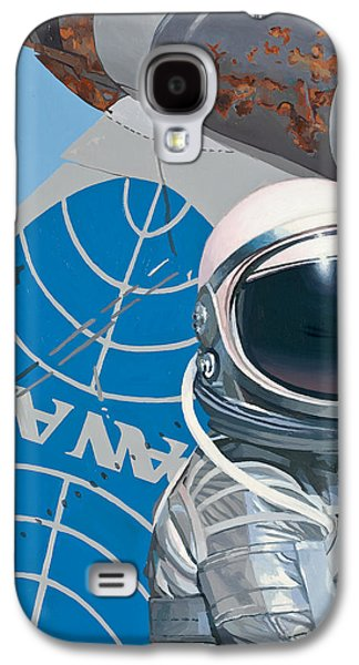 Science Fiction Paintings Galaxy S4 Cases - Pan Am Galaxy S4 Case by Scott Listfield
