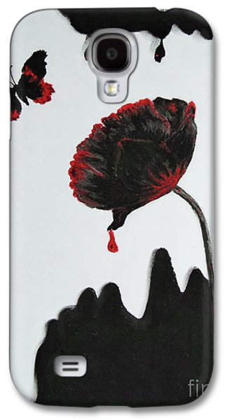 False-colour Pastels Galaxy S4 Cases - Pan is Dead Galaxy S4 Case by Stanza Widen