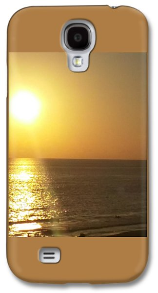 Etc. Paintings Galaxy S4 Cases - Panama City Beach #2 Galaxy S4 Case by Earnestine Clay