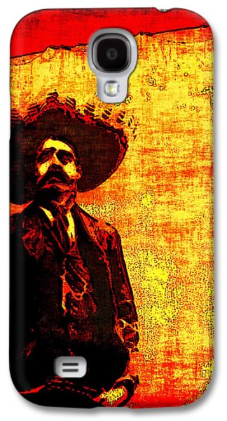 Arango Galaxy S4 Cases - Pancho Villa Galaxy S4 Case by Joan  Minchak