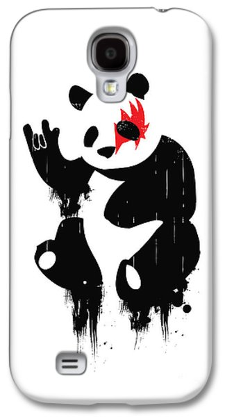 Metal Galaxy S4 Cases - Panda Rocks Galaxy S4 Case by Budi Satria Kwan