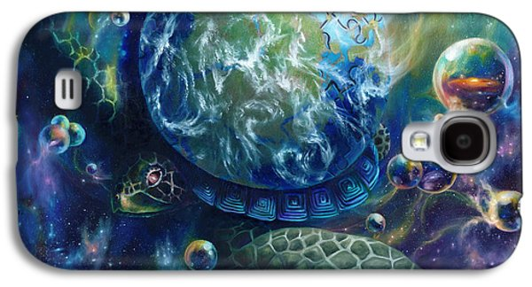 Visionary Artist Galaxy S4 Cases - Pangaea Galaxy S4 Case by Kd Neeley
