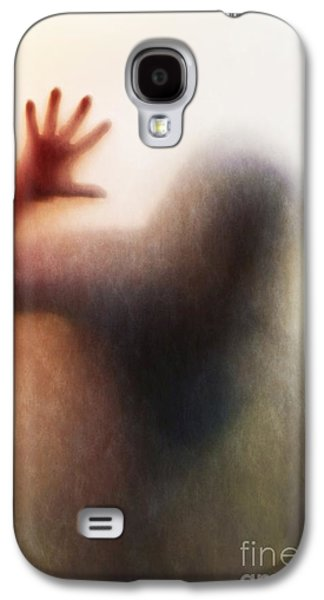 Ghostly Galaxy S4 Cases - Panic Silhouette Galaxy S4 Case by Carlos Caetano