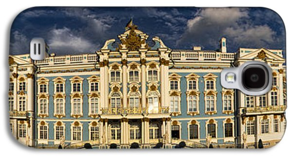Built Structure Galaxy S4 Cases - Panorama of Catherine Palace Galaxy S4 Case by David Smith