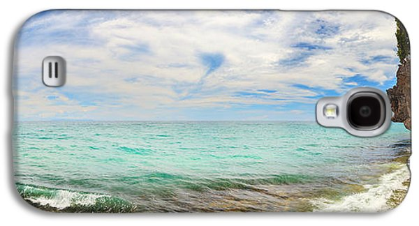 Waterscape Galaxy S4 Cases - Panorama of  lagoon.  Galaxy S4 Case by MotHaiBaPhoto Prints