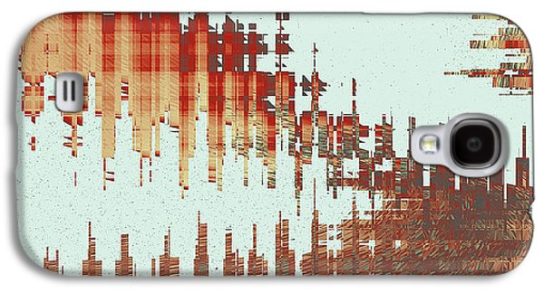 Panoramic City Reflection Galaxy S4 Case by Ben and Raisa Gertsberg