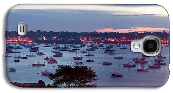 4th July Galaxy S4 Cases - Panoramic of the Marblehead Illumination Galaxy S4 Case by Jeff Folger