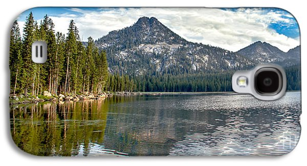 Panoramic View Of Anthony Lake Galaxy S4 Case by Robert Bales
