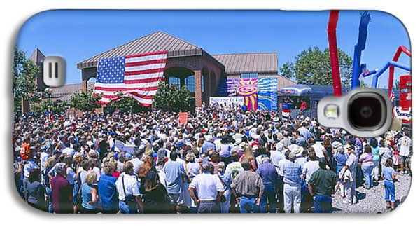Republican Party Galaxy S4 Cases - Panoramic View Of Spectators At Oxnard Galaxy S4 Case by Panoramic Images