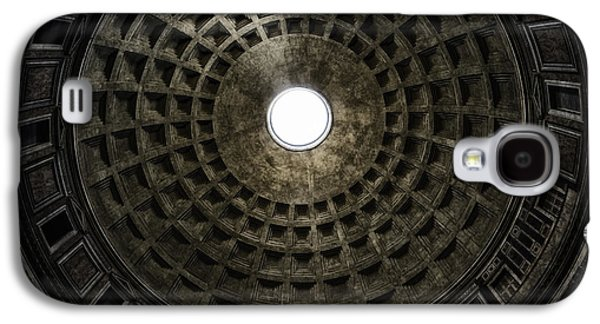 Ancient Galaxy S4 Cases - Pantheon Oculus Galaxy S4 Case by Joan Carroll
