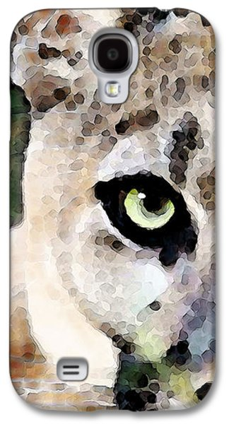 Panther Galaxy S4 Cases - Panther Art - Floridas Feline Galaxy S4 Case by Sharon Cummings