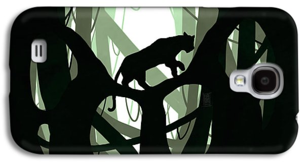 Vines Galaxy S4 Cases - Panther Paw Galaxy S4 Case by Daniel Hapi