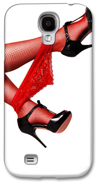 Person Galaxy S4 Cases - Panties On Legs Galaxy S4 Case by Aleksey Tugolukov