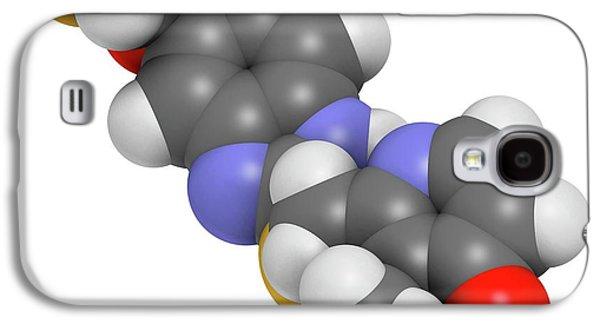 Pantoprazole Gastric Ulcer Drug Molecule Galaxy S4 Case by Molekuul