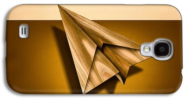 Glides Galaxy S4 Cases - Paper Airplanes of Wood 1 Galaxy S4 Case by Yo Pedro