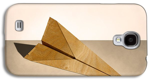 Glides Galaxy S4 Cases - Paper Airplanes of Wood 15 Galaxy S4 Case by YoPedro