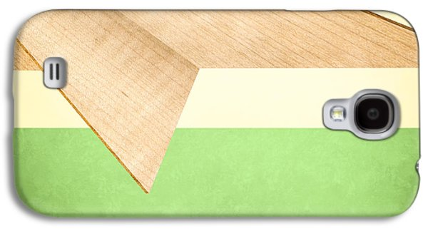 Glides Galaxy S4 Cases - Paper Airplanes of Wood 17 Galaxy S4 Case by Yo Pedro