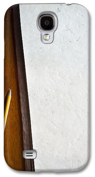 Torn Galaxy S4 Cases - Paper and Pencil Galaxy S4 Case by Tim Hester
