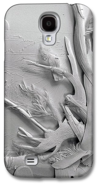 Original Reliefs Galaxy S4 Cases - Paper Sculpture original Galaxy S4 Case by Dave Wood