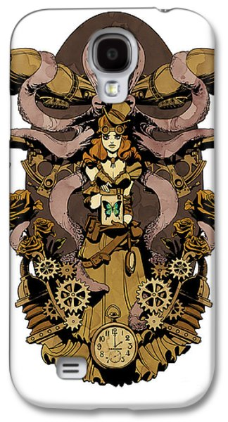 Papillon Mecaniques Galaxy S4 Case by Brian Kesinger