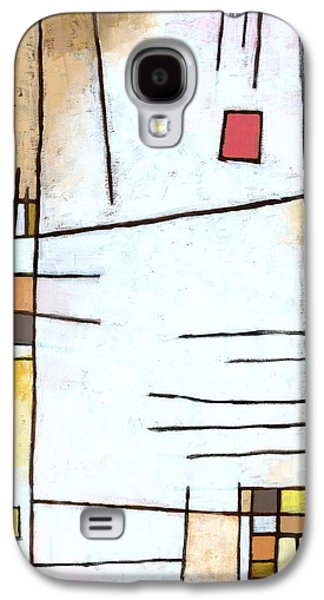 Abstract Geometric Galaxy S4 Cases - Paprika Galaxy S4 Case by Douglas Simonson