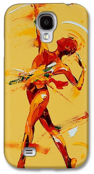 Ballet Dancers Paintings Galaxy S4 Cases - Paradis Galaxy S4 Case by Penny Warden